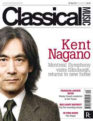 Classical Music issue 30th July