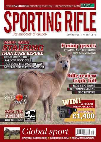 Sporting Rifle issue November 2014