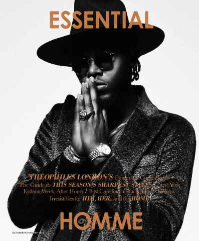 Essential Homme issue October-November 2014