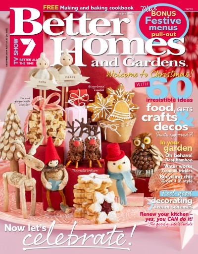 Better Homes and Gardens Australia Magazine December 2014