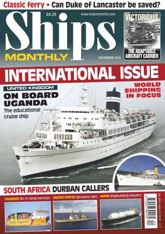 Ships Monthly issue No.600 International Issue