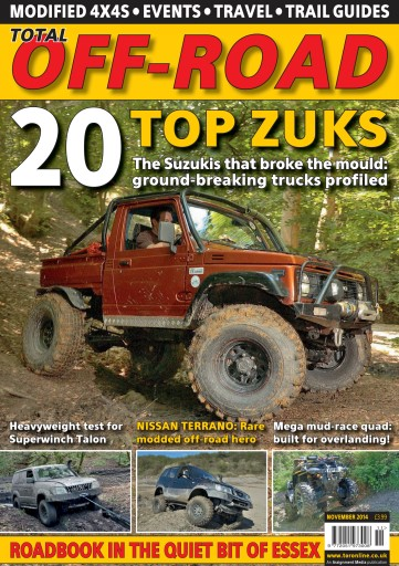 4x4 magazine incorporating total off road november 2014 subscriptions pocketmags. Black Bedroom Furniture Sets. Home Design Ideas