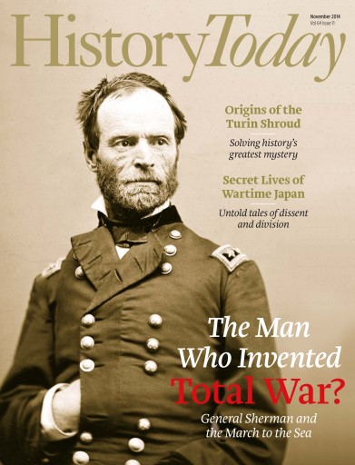 History Today issue November 2014