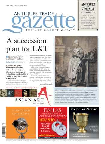 Antiques Trade Gazette issue ATG Issue 2162