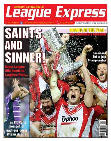 League Express issue 2936