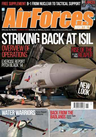 AirForces Monthly issue November 2014