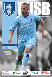 CCFC Official Programmes issue 01 V NORWICH (11-12)