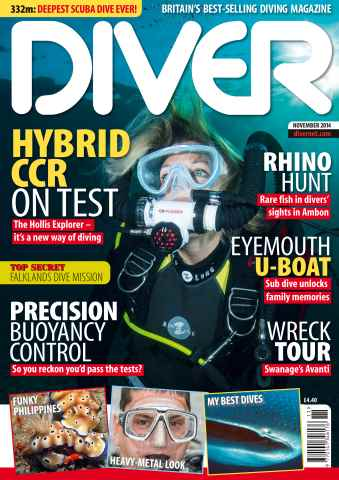 DIVER issue Nov-14