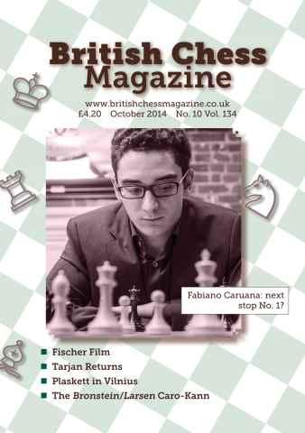 British Chess Magazine issue October 2014