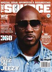 The Source Magazine issue #263 The Source Magazine Jeezy Cover