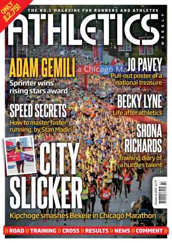 Athletics Weekly issue 16/10/2014