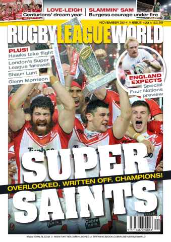 Rugby League World issue 403
