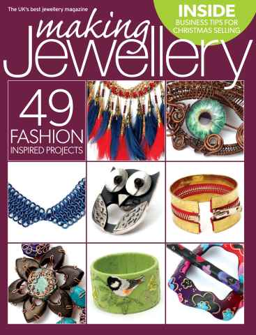 Making Jewellery issue November 2014