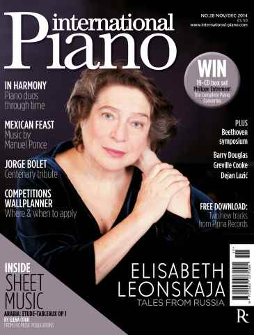 International Piano issue Nov - Dec 2014