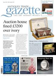 Antiques Trade Gazette issue ATG Issue 2163