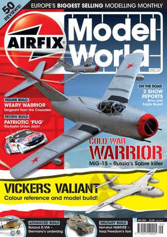 Airfix Model World issue September 2011