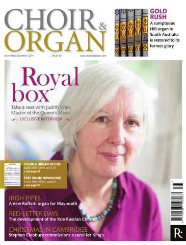 Choir & Organ issue Nov - Dec 2014