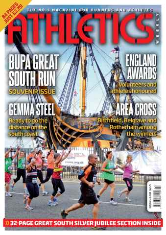 Athletics Weekly issue 23/10/2014