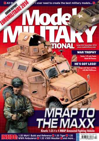 Model Military International issue 104