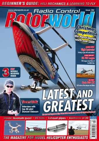 Radio Control Rotor World issue Dec-14