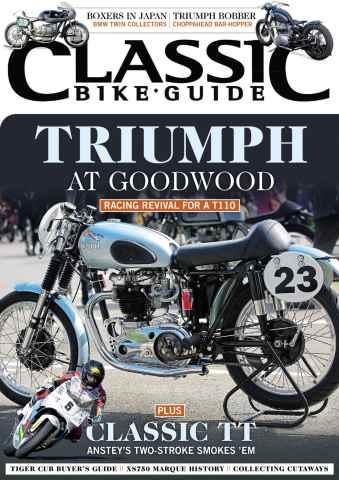 Classic Bike Guide issue November 2014