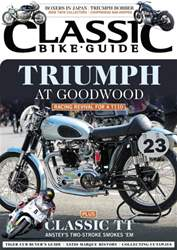 Classic Bike Guide issue November 2014