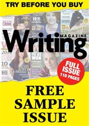 Writing Magazine - Free Sample issue Writing Magazine - Free Sample