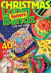 Loom Bandz Factory issue Christmas Loom Bandz Factory