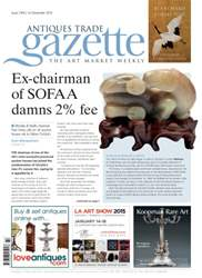 Antiques Trade Gazette issue ATG Issue 2164