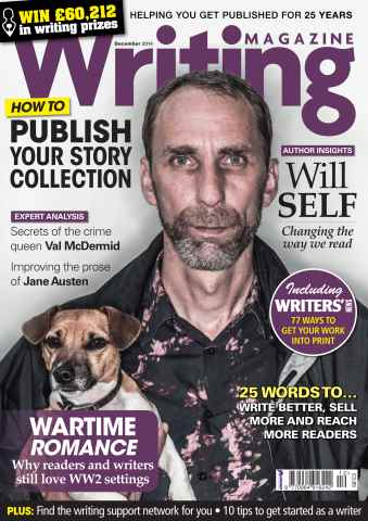 Writing Magazine issue December 2014