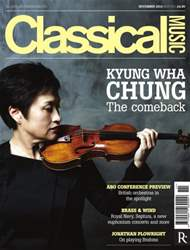 Classical Music issue November 2014