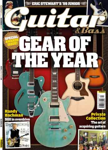Guitar & Bass Magazine issue Dec-14