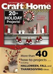 Craft & Home Projects issue Fall 2014