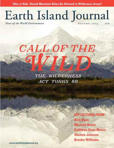 Earth Island Journal issue Autumn 2014