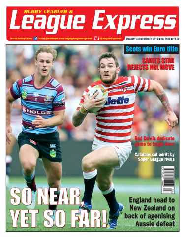 League Express issue 2939