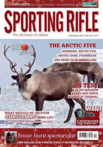 Sporting Rifle issue December 2014