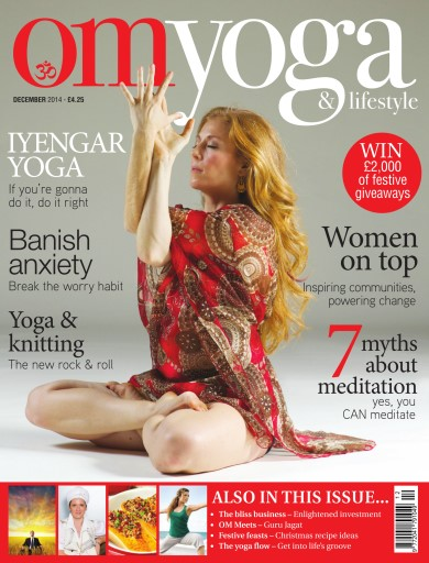 OM Yoga UK Magazine issue Dec-14