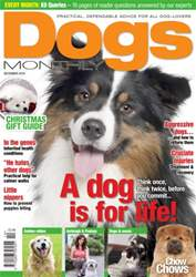 Dogs Monthly December 2014 issue Dogs Monthly December 2014