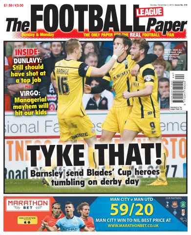 The Football League Paper issue 2nd November 2014