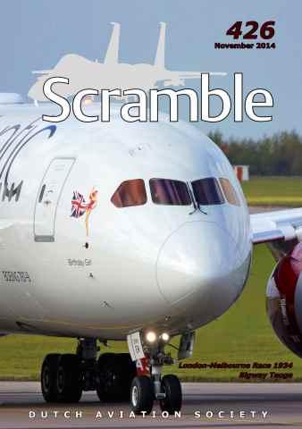 Scramble Magazine issue 426 - November 2014