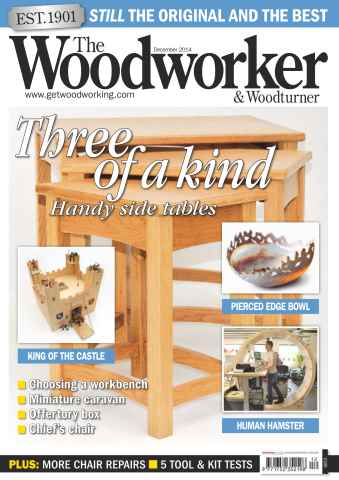 The Woodworker Magazine issue December 2014