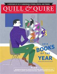Quill & Quire issue DECEMBER 2014