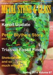 Metal Stone And Glass issue Spring 2014 Volume 67