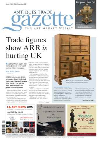 Antiques Trade Gazette issue ATG Issue 2166
