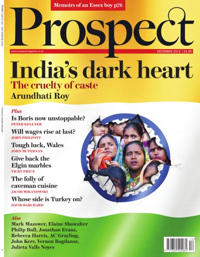 Prospect Magazine issue December 2014