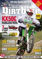 Classic Dirt Bike issue Issue #33