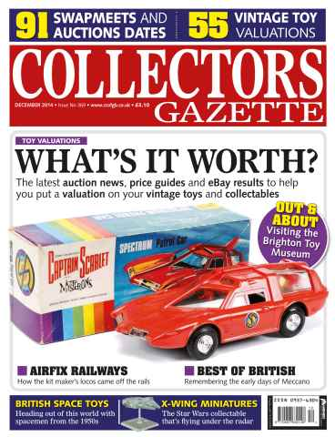 Collectors Gazette issue December Issue