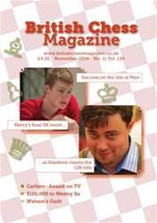 British Chess Magazine issue November 2014