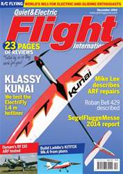 Quiet & Electric Flight Inter issue December 2014