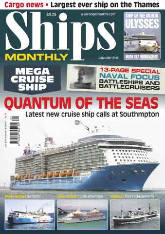 Ships Monthly issue No.601 Quantum of the Seas